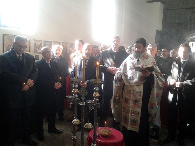 Višegrad: Dobrun - liturgija - Foto: SRNA