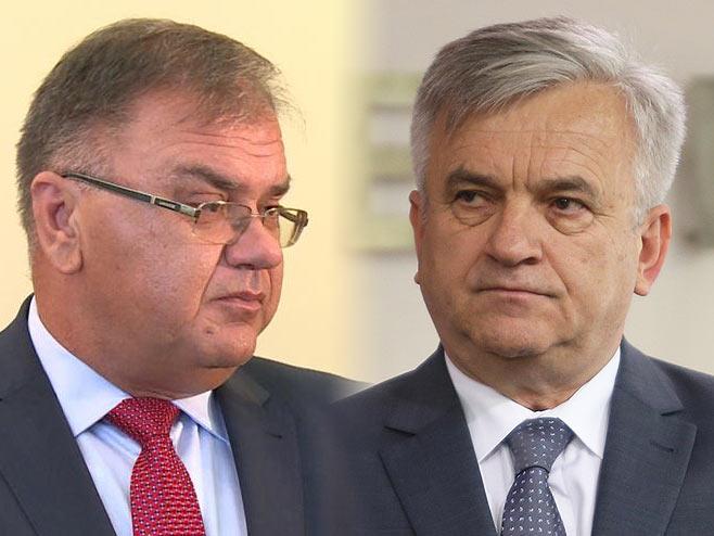 Ivanić i Čubrilović (Ilustracija: RTRS) -