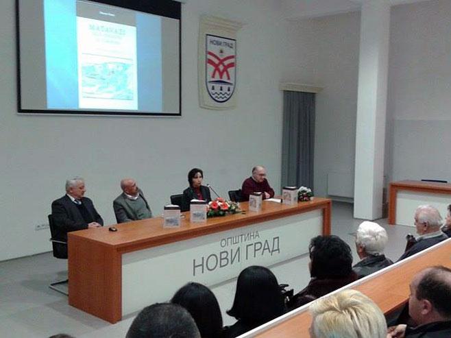 """Novi Grad: Predstavljena monografija """"Matavazi, selo otrgnuto od zaborava"""" - Foto: SRNA"""