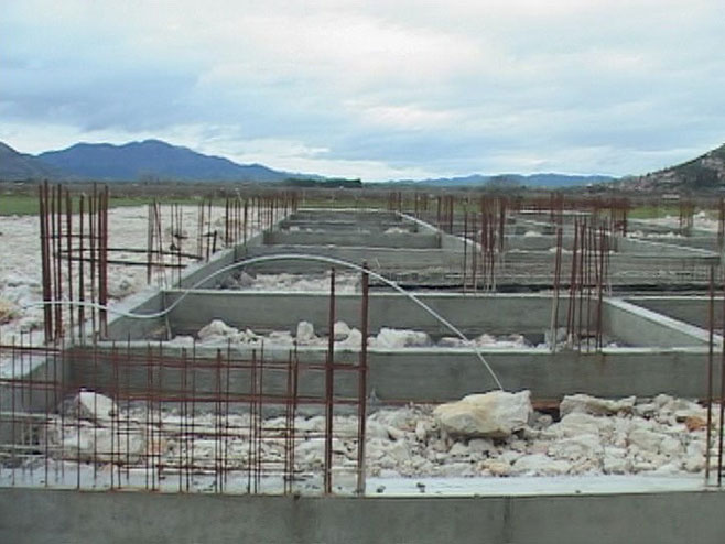 Izgradnja Vatrogasnog doma u Trebinju - Foto: RTRS