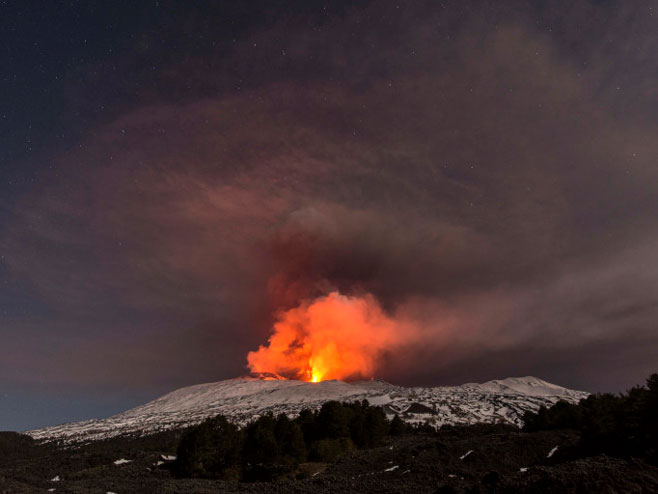 Vulkan Etna  (Foto:metro.co.uk) -