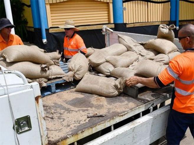 Australija - Ciklon Debi - Foto: Getty Images