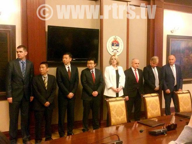 Potpisan Sporazum o saradnji na realizaciji projekta izgradnje TE Gacko 2 - Foto: RTRS