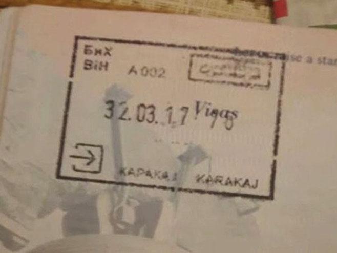 Katerov pasoš sa pogrešnim datumom - Foto: Screenshot/YouTube