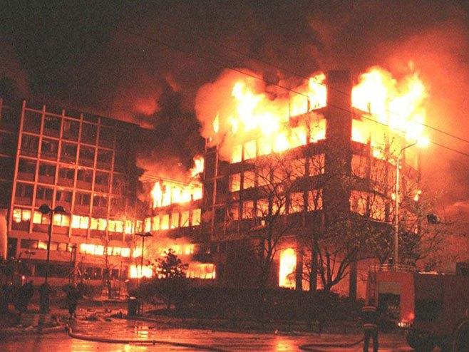 NATO bombardovanje Beograda (foto:Tanjug/Vladimir Dimitrijević) -