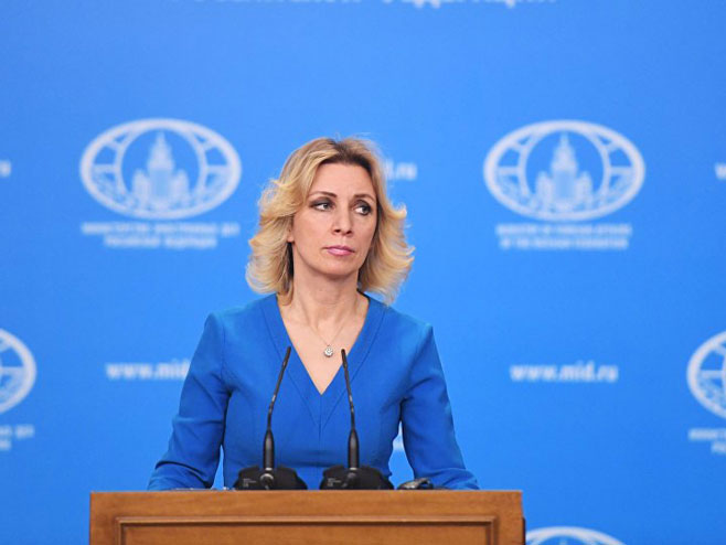 Marija Zaharova (Foto: Sputnik/Evgeniй Biяtov) -