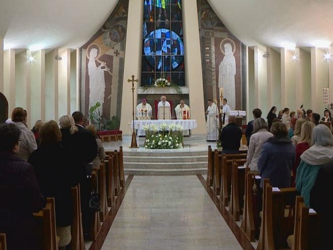 Uskršnja misa u Banjaluci - Foto: RTRS