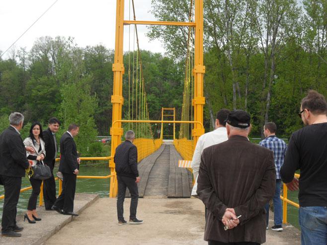 Rekonstruisan most na Sani