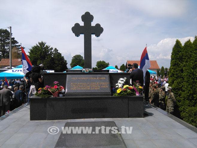 Tuzlanska kolona - pomen u Bijeljini - Foto: RTRS