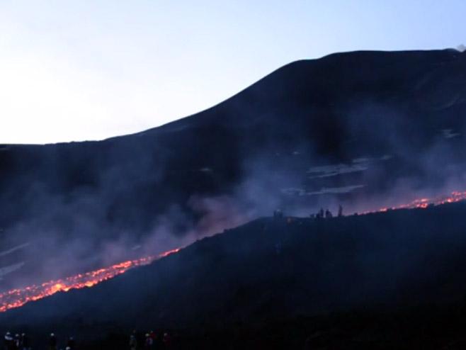 Italijanski vulkan prijeti erupcijom - Foto: Screenshot