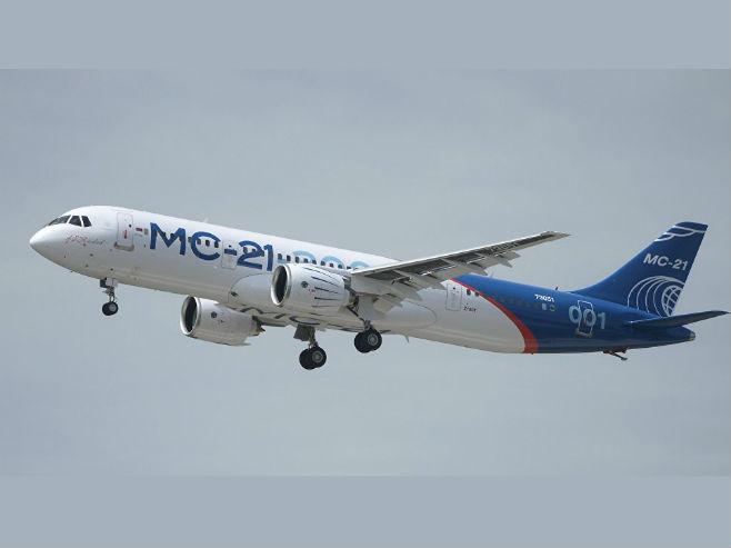 """Ruski putnički avionom """"MS -21"""" (Foto:  Sputnik/ Sergeй Mamontov) -"""