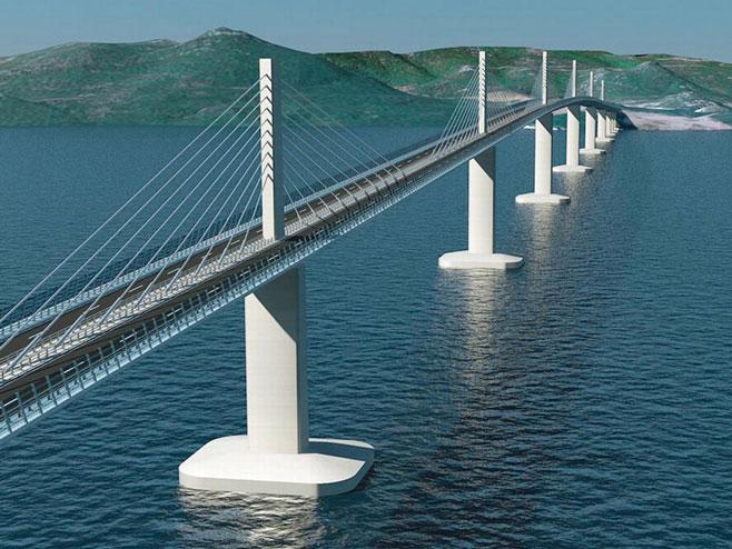 Pelješki most - Foto: vecernji.hr