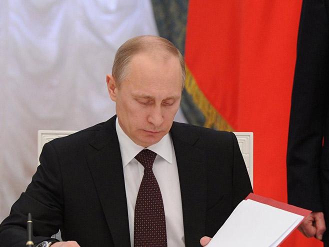 Vladimir Putin (Foto: Sputnik/Mihail Klimentьev) -