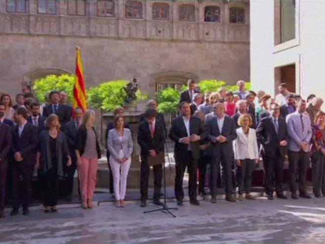 Potvrđen referendum o otcjepljenju Katalonije - Foto: RTRS