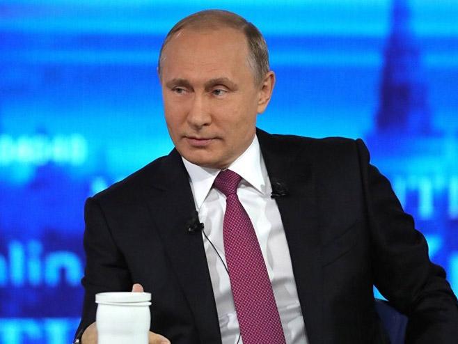 Vladimir Putin (foto: © Sputnik/ Mihail Klimentьev) -