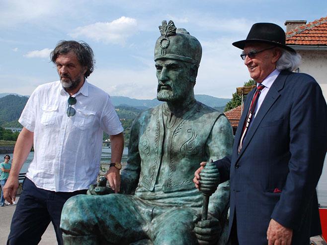 Višegrad: Kusturica - Pavlović - Foto: SRNA
