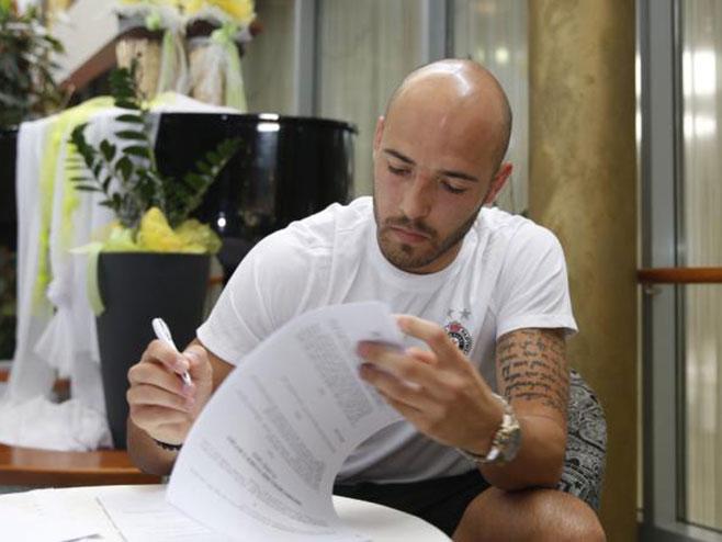Nemanja Miletić (foto: FK Partizan) -