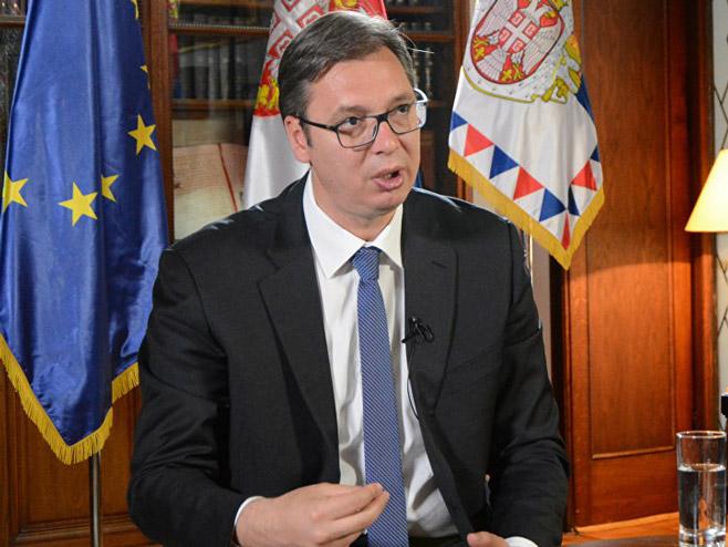 Aleksandar Vučić (Foto: Sputnik/Radoje Pantović) -