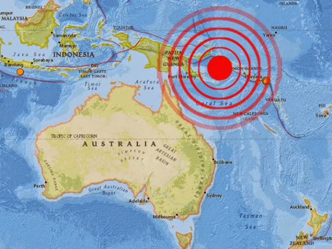 Zemljotres na Papui Novoj Gvineji - Foto: ilustracija