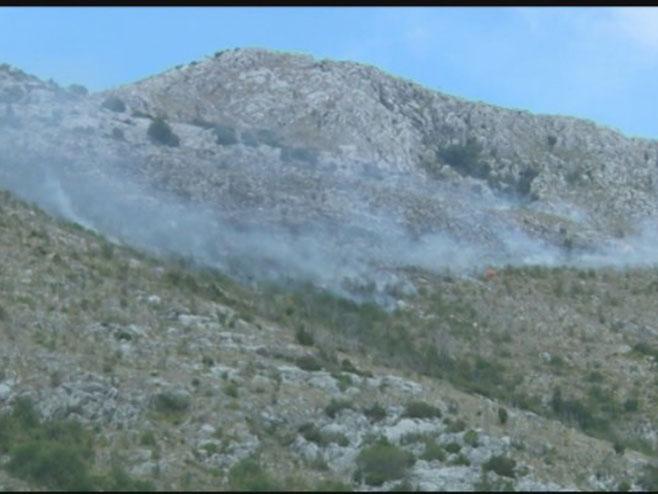 Požar Ljubinje - Foto: RTRS