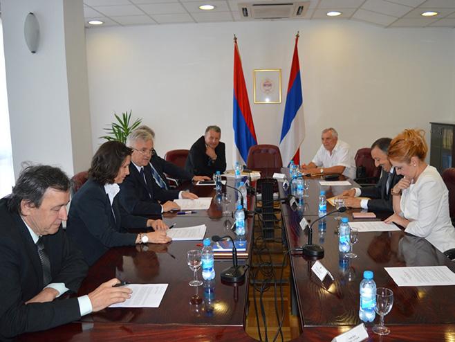 Banjaluka: Sjednica odbora za ustavna pitanja NSRS - Foto: SRNA