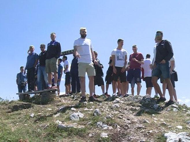 Odbojkaši Srbije na Јahorini - Foto: RTRS