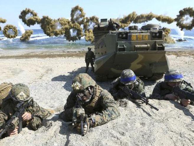 Godišnje vojne vježbe SAD i Ј.Koreje  (Foto:nezavisne.com) -
