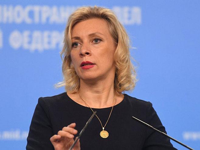 Marija Zaharova  (Foto: Sputnik/ Evgeniй Biяtov) -