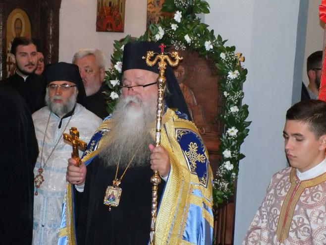 Sokolac - novoizabrani mitropolit dabrobosanski Hrizostom - Foto: SRNA