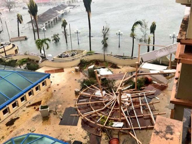Uragan Irma (foto: Twitter) -