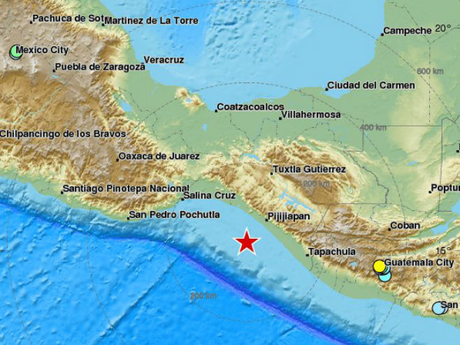 Zemljotres kod Meksika - Foto: ilustracija