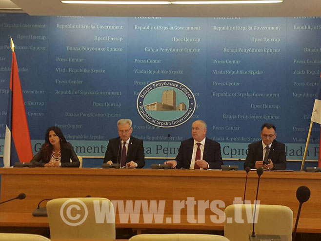 Ministar Savanović - pres - Foto: RTRS