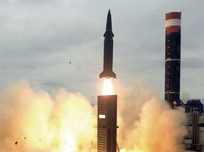 Balistička raketa - Foto: TANЈUG