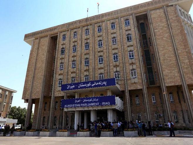 Zgrada parlamenta Kurdistana (Foto:s.yimg.com) -