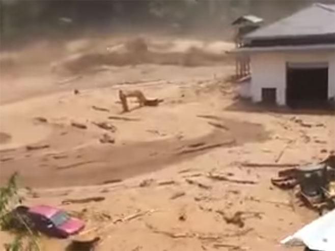 Karibi - Portoriko - pukla brana - Foto: Screenshot/YouTube