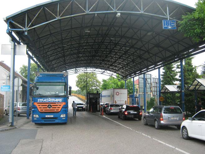 Gradiška -  Granični prelaz - Foto: RTRS