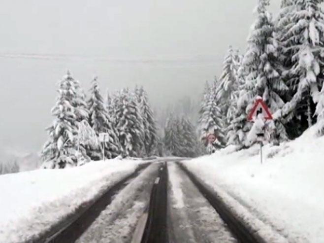 Snijeg u Srbiji - Foto: TANJUG