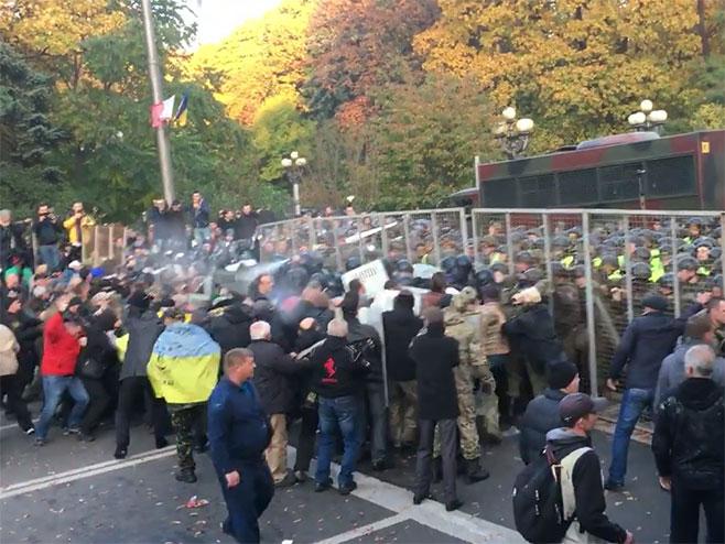 Protesti u Ukrajini - Foto: Screenshot