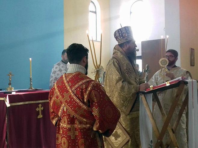 Novi Grad, Sveta arhijerejska liturgija - Foto: SRNA