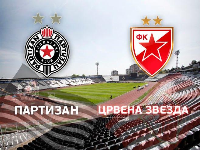 Partizan - Crvena zvezda (Ilustracija: RTRS) -