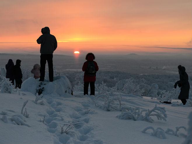 Murmansk: Prvi izlazak sunca poslije 40 dana (Foto: SERGEY ERMOKHIN) -