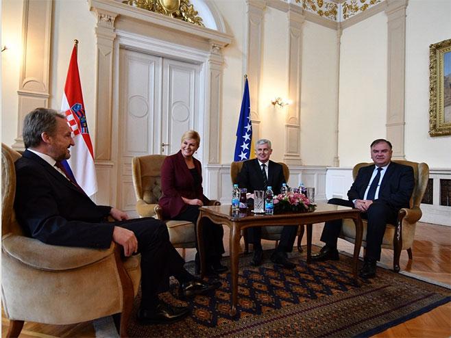 Zvanična posjeta Kitarovićeve BiH - državna tajna