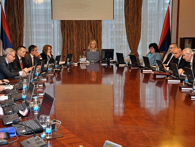 Vlada Republike Srpske, sjednica - Foto: SRNA