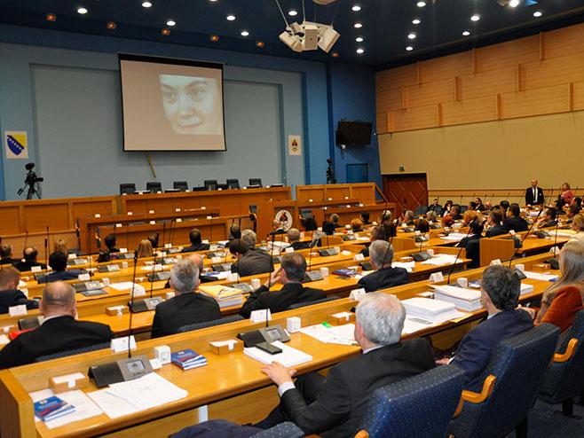 """Film """"Lica lafore"""" prikazan narodnim poslanicima - Foto: RTRS"""