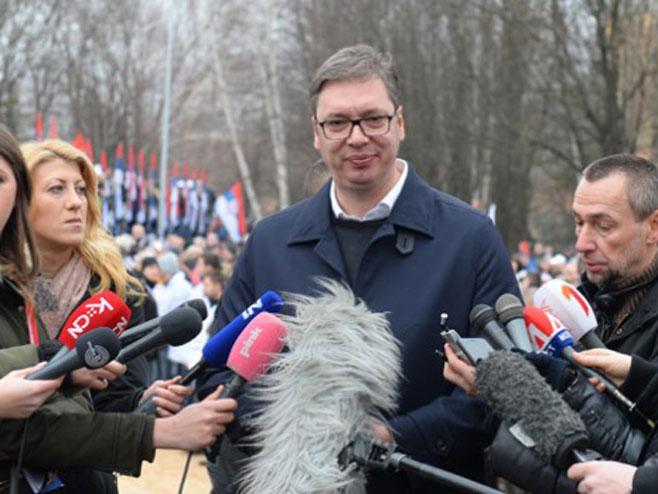 Vučić: Ne sekiram se zbog kampanje protiv mene u Hrvatskoj -