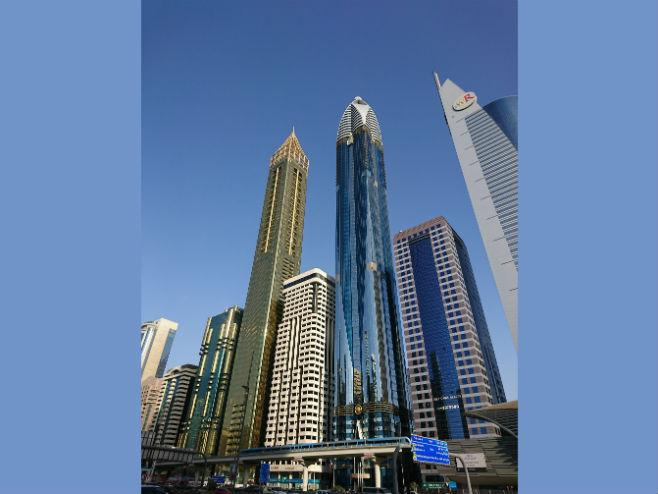 Hotel Gevora u Dubaiju (lijevo) -Foto: gulftomorrow.com -