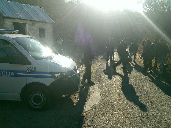 Migranti u BiH (Foto: Avaz) -