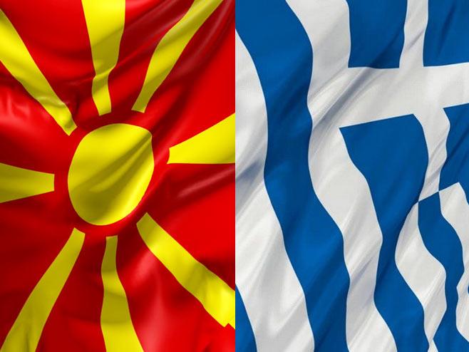 Makedonija i Grčka (Ilustracija: RTRS) -