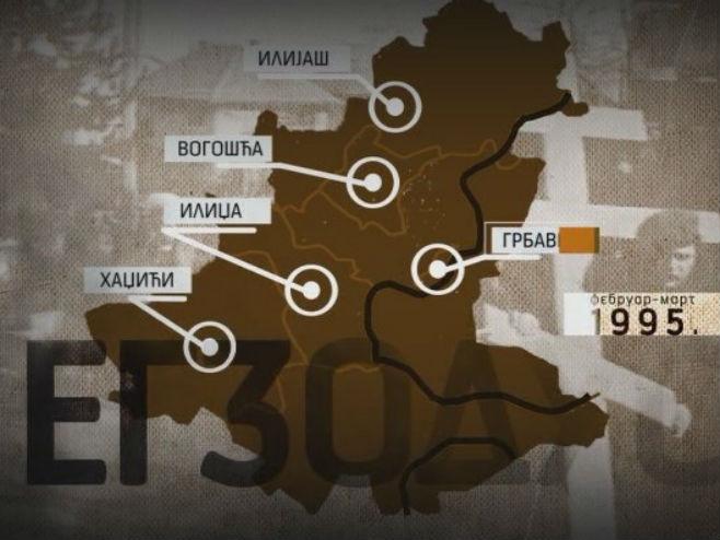 Egzodus sarajevskih Srba - Foto: RTRS