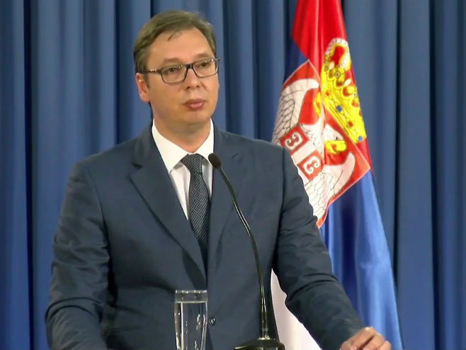 Aleksandar Vučić, predsjednik Republike Srbije -